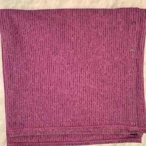 Lululemon magenta wrap scarf